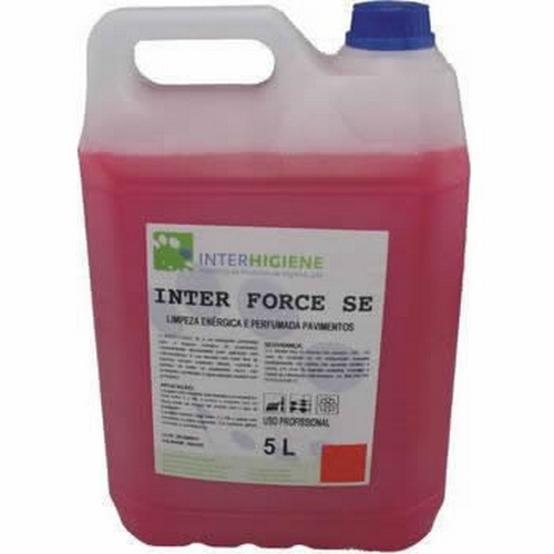 DETERGENTE NEUTRO INTERFORCE ESPUMA CONT. 5LT