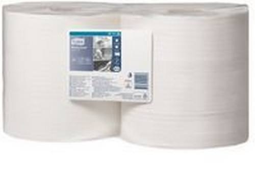 ROLO INDUSTRIAL DE EXTRACÇÃO CENTRAL 1FL BRANCO 460MX24,5CM 1150 SERV TORK
