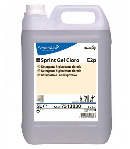 SPRINT GEL CLORO 5LT